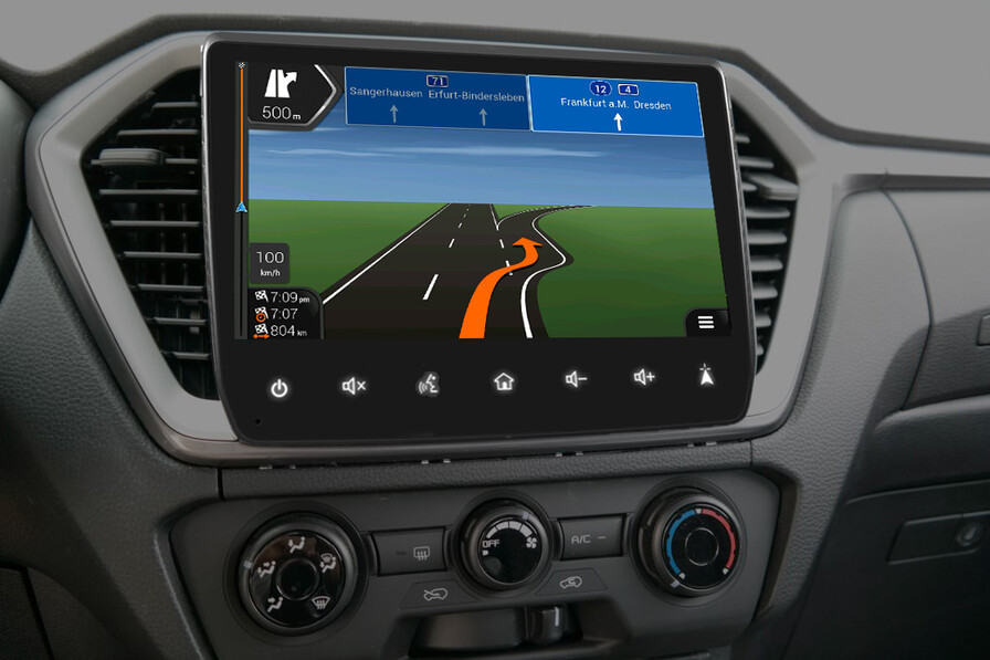 Isuzu D-MAX Zubehoer Interieur Navigation Map